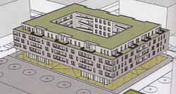 Wohnblock mit 76 Wohneinheiten u. Großgarage, Neu-Ulm